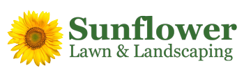 Sunflower Lawn & Landscaping Logo